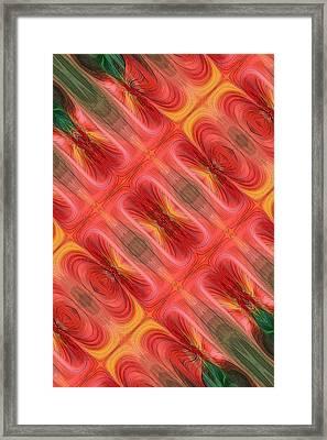 United Tiles Framed Print by Linda Phelps