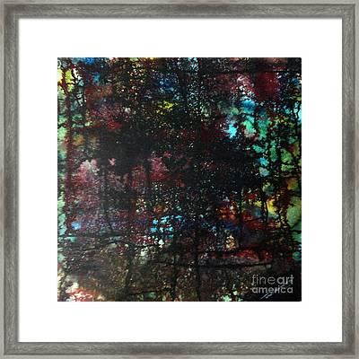 Evening Of Duars Framed Print