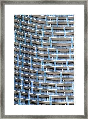 Units Framed Print by Valentino Visentini