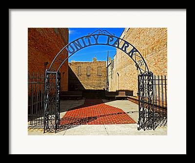 Unity In America Today Framed Prints