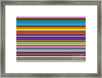 Unity Of Colour 1 Framed Print