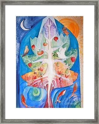 Unity Framed Print by Shirin Shahram Badie