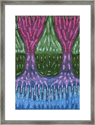Unity Framed Print by Wojtek Kowalski