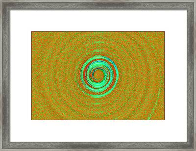 Universal Chakra Framed Print by Sonali Gangane