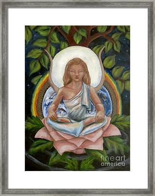 Universal Goddess Framed Print