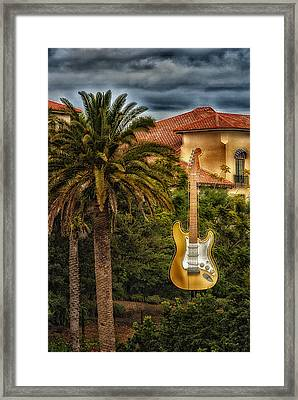 Universal Guitar Framed Print