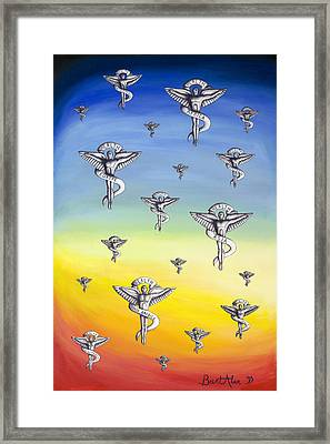 Universal Health Framed Print by Brent Buss