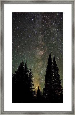 Universal Lights Framed Print