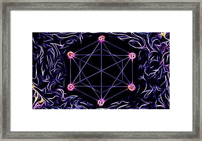 Universal Love Framed Print by Mary Burr