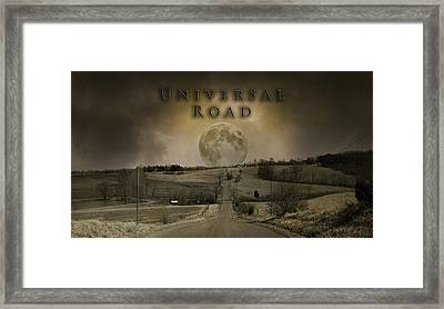 Universal Road Framed Print by Betsy Knapp