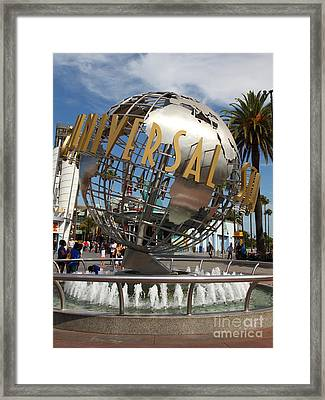 Universal Studios Hollywood California 5d28468 Framed Print by Wingsdomain Art and Photography