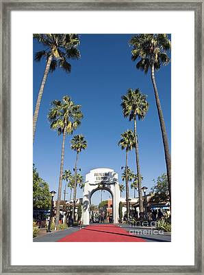 Universal Studios Red Carpet Framed Print