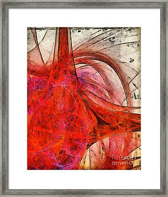 Universal Truth Abstract Framed Print