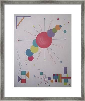 Universe 1 Framed Print