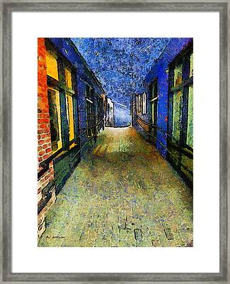 Universe Alley Framed Print by RC deWinter