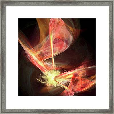 Universe Creation By Brane Collision Framed Print