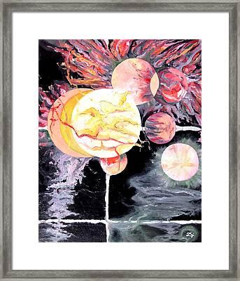 Universe Framed Print by Daniel Janda