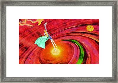 Universe Framed Print by George Rossidis