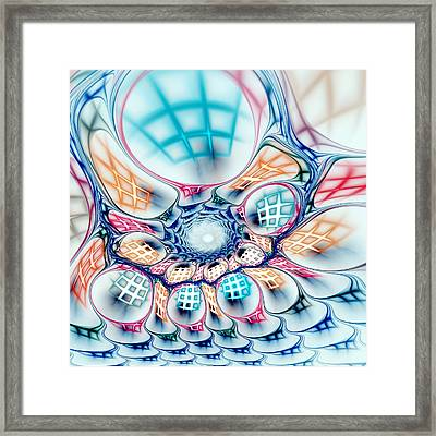 Universe In A Bag Framed Print