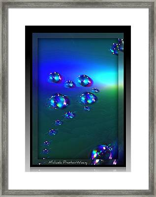 Framed Print featuring the photograph Universe by Michaela Preston