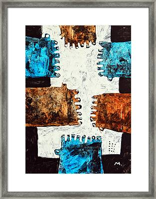 Universi No. 3 Framed Print by Mark M  Mellon