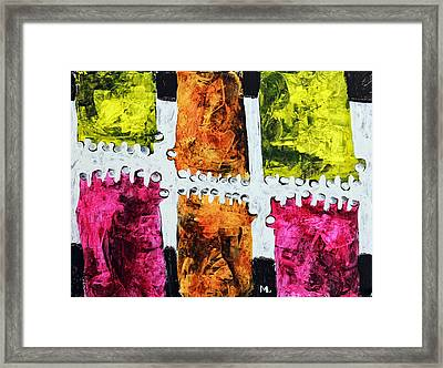 Universi No. 5 Framed Print by Mark M  Mellon
