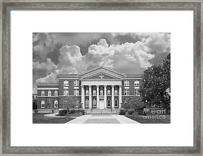 University At Albany Draper Hall Framed Print by University Icons