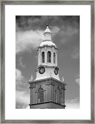 University At Buffalo Hayes Hall Framed Print by University Icons