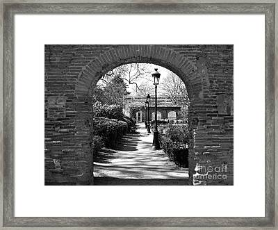 Framed Print featuring the photograph University Garden by Cendrine Marrouat