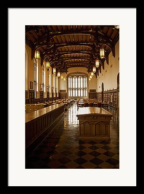 College Room Framed Prints