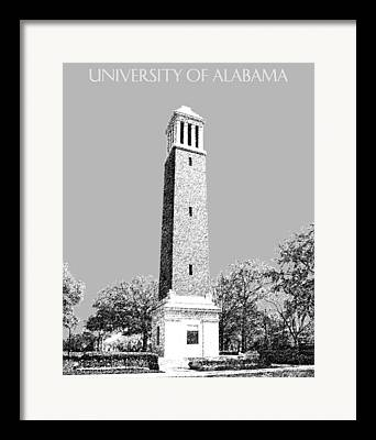 Tuscaloosa Digital Art Framed Prints
