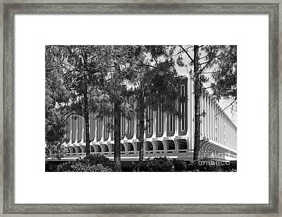 University Of California Irvine Langson Library Framed Print