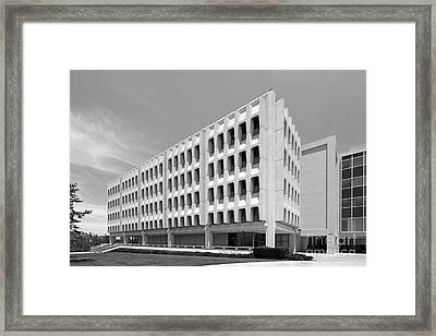 University Of California Irvine Rowland Hall Framed Print by University Icons