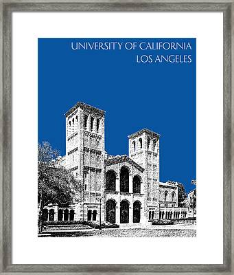 University Of California Los Angeles - Royal Blue Framed Print