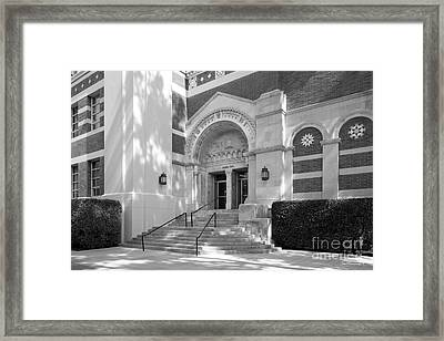 University Of California Los Angeles Dodd Hall Framed Print