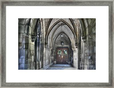 University Of Chicago Framed Print by David Bearden