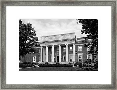 University Of Dayton Albert Emanuel Hall Framed Print by University Icons