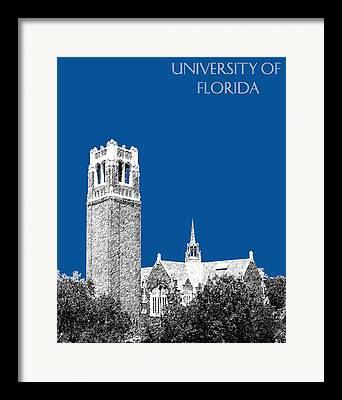 Florida Gators Digital Art Framed Prints