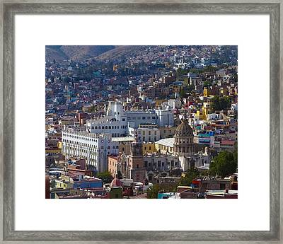 University Of Guanajuato Framed Print by Douglas J Fisher