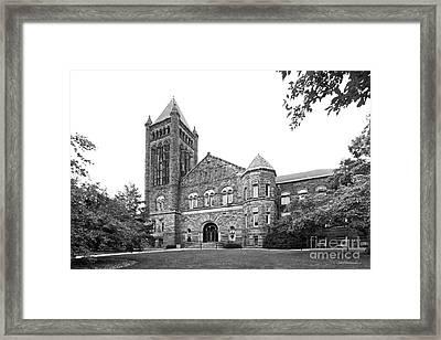 University Of Illinois Altgeld Hall Framed Print by University Icons