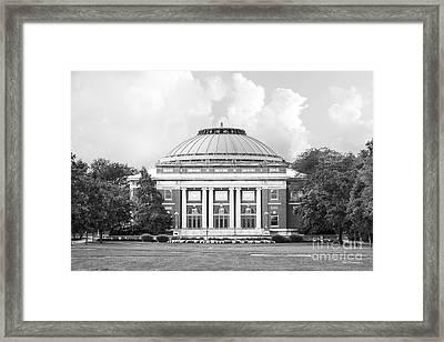 University Of Illinois Foellinger Auditorium Framed Print by University Icons