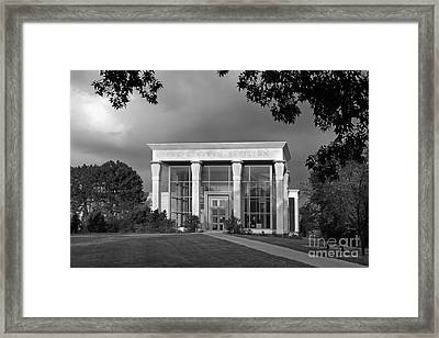 University Of Illinois Kinkead Pavilion Framed Print by University Icons