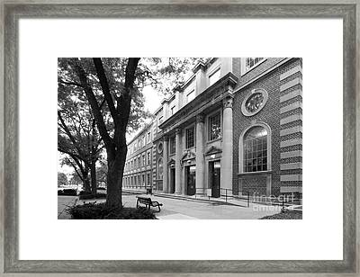 University Of Iowa Chemistry Building Framed Print