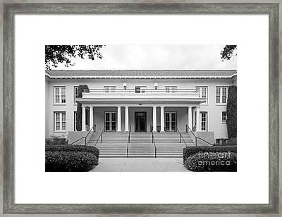 University Of La Verne Miller Hall Framed Print by University Icons