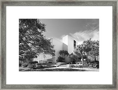 University Of Miami College Of Engineering Framed Print by University Icons