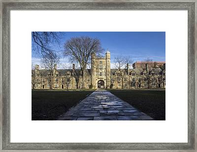 University Of Michigan Campus Framed Print