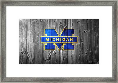 University Of Michigan Framed Print by Dan Sproul