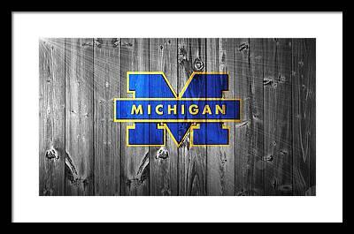 University Of Michigan Framed Prints