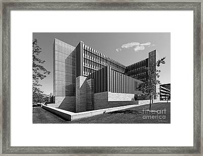 University Of Michigan Ross School Of Business Framed Print by University Icons
