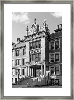 University Of Minnesota Folwell Hall Framed Print by University Icons